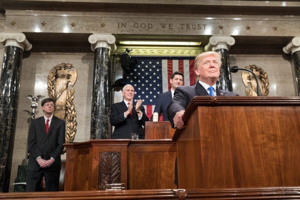 Donald Trump, discorso sullo Stato dell'Unione