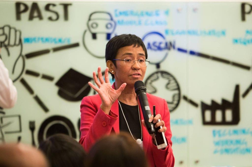 Maria Ressa, giornalismo, libertà stampa