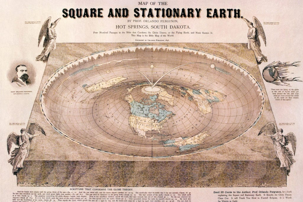 Terra piatta, flat earth