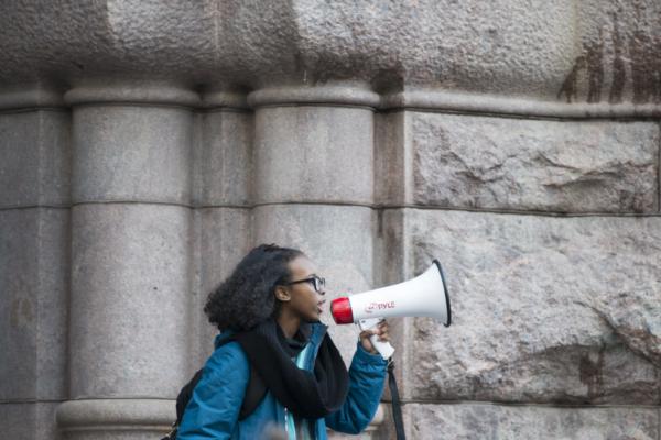 Isra Hirsi climate change razzismo