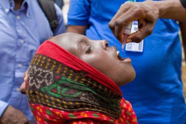 Africa polio free