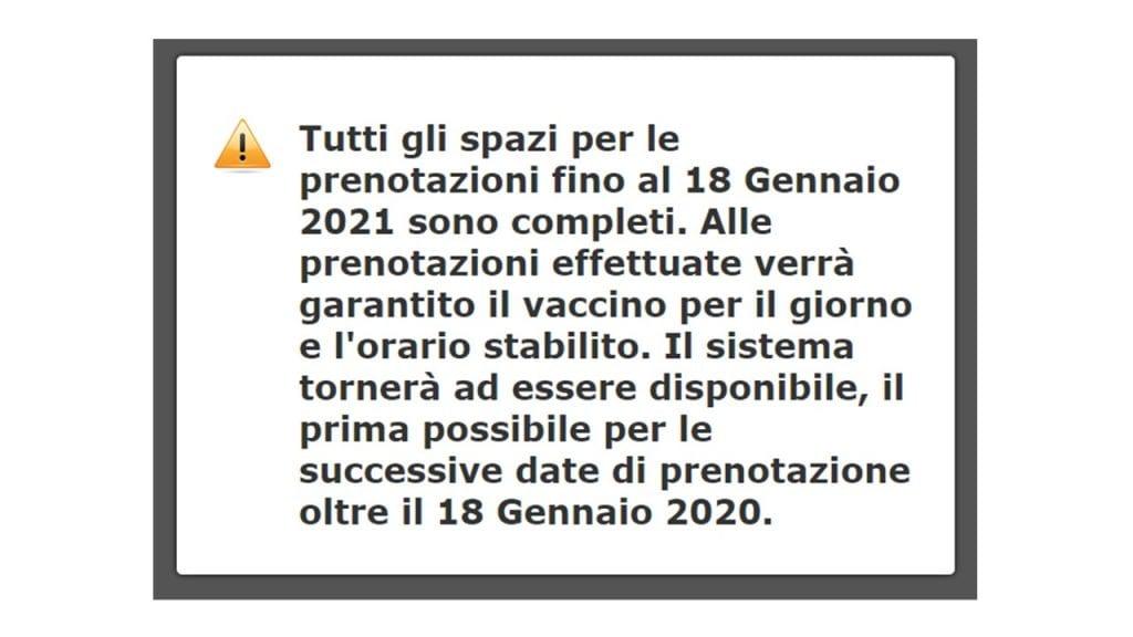 annuncio vaccini covid