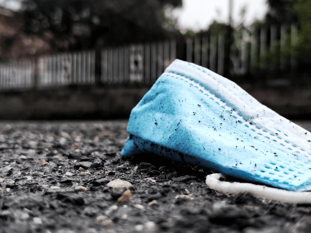 mascherine plastica inquinamento